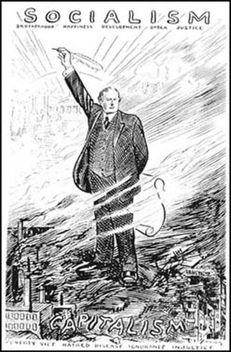 Charles Edward Russell - Russell as drawn by Art Ward in 1912.