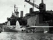 USS Albemarle with PBM Guantanamo1 1945