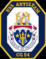 USS Antietam CG-54 Crest