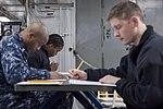 USS Bonhomme Richard (LHD 6) E-7 Advancement Exam 2017 170119-N-TH560-009.jpg