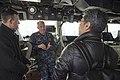 USS Bonhomme Richard (LHD 6) Welcomes Asahi Shimbun Reporter 170118-N-TH560-100.jpg