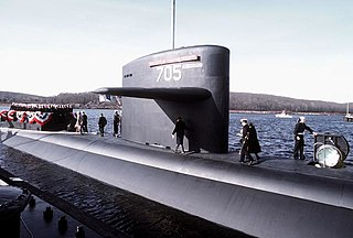 USS <i>City of Corpus Christi</i> Los Angeles-class nuclear-powered attack submarine of the US Navy