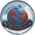 USS Des Moines (CA-134) insignia, in the 1950s (NH 102709-KN).png