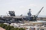USS Enterprise (CVN-65) at Newport News Shipbuilding on 15 July 2018 (180715-N-AO748-0061).JPG