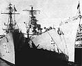 USS Forrest Sherman (DD-931) and USS Willis A. Lee (DL-4) in 1957.jpg
