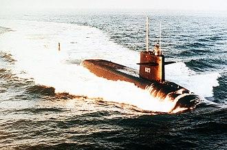 USS James Madison (SSBN-627) - USS James Madison SSBN-627