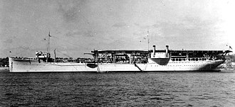 USS Langley (CV-1) - Langley after conversion to a seaplane tender, 1937