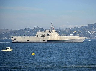 USS <i>Manchester</i> (LCS-14) Littoral combat ship of the United States Navy