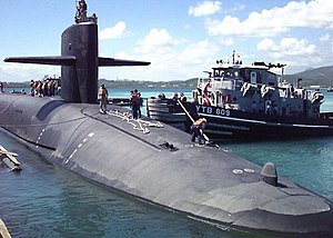 USS Maryland (SSBN-738) 1997