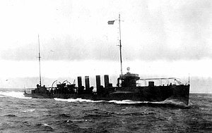 Porter undergoing trials, 8 March 1916