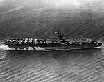 USS Princeton (CVL-23) underway in May 1943.jpg