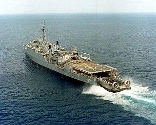 USS <i>Spiegel Grove</i> (LSD-32) US Navy dock landing ship sunk off Key Largo as an artificial reef