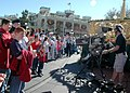 US Navy 051204-N-8102J-004 Members of the Armed Forces and their families participate in the taping of the 2005 Walt Disney World Christmas Day Parade held at the Magic Kingdom in Orlando, Fla.jpg