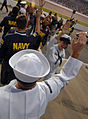 US Navy 070504-N-5345W-294 Navy recruiters from Recruiting District Richmond and members of the ^88 U.S. Navy Chevy Monte Carlo team.jpg