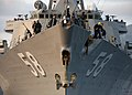 US Navy 080109-N-0780F-002 Sailors conduct mooring operations as guided missile destroyer USS Laboon (DDG 58) arrives for a routine port visit to the island of Crete.jpg