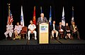 US Navy 080820-N-0924R-018 Norfolk Mayor Paul Fraim speaks on behalf of the civilian community at the Hampton Roads Military Recognition Reception.jpg