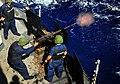 US Navy 090725-N-4774B-054 Gunners Mates aboard the guided-missile cruiser USS Lake Champlain (CG 57) fire a .50 caliber machine gun during a live-fire exercise.jpg