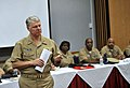 US Navy 091104-N-8273J-211 Chief of Naval Operations Adm. Gary Roughead speaks with and answers questions from Fleet, Force and Command Master Chiefs.jpg
