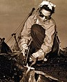 US Navy 80-G-41628 Hawaiian female worker cutting steel during salvage efforts after Pearl Harbor attack.jpg