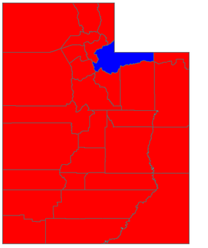 United States Senate election in Utah, 2006 - Image: UT Sen Election 06