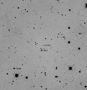 (55637) 2002 UX25 - Image: UX25 LB1 2009Nov 19 06UT