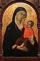 Ugolino di nerio, madonna col bambino e santi (cleveland), 1320 ca. 04.jpg