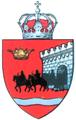 Unapproved interbelic Fagaras County CoA.png