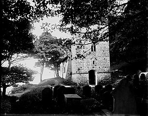 View of unidentified church