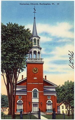 Unitarian Church (Burlington, Vermont) - Image: Unitarian Church, Burlington, Vt (77627)