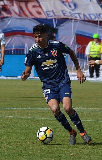 Ángelo Araos - Araos with Universidad de Chile in 2018