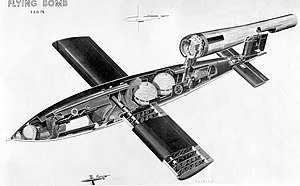 V-1 flying bomb - V-1 cutaway