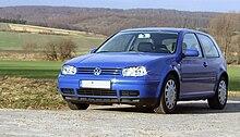 La Volkswagen Golf (quarta serie)