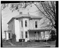 VIEW NORTH, SOUTH FRONT, WEST SIDE - Jesse Wolf House, 210 East Main Cross Street, Findlay, Hancock County, OH HABS OHIO,32-FIND,1-2.tif