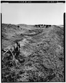 VIEW OF LATERAL E WITH HEADGATES, LOOKING SOUTH - Highline Extension Canal, Denver, Denver County, CO HAER COLO,16-DENV.V,2-17.tif