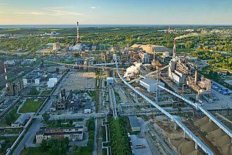 Oil shale industry - VKG Energia in Estonia.