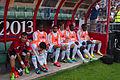 Valais Cup 2013 - OM-FC Porto 13-07-2013 - Banc marseillais.jpg