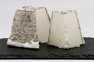 Types of cheese - Valençay cheese, a goat cheese from France