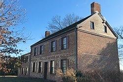 Van Veghten House, Finderne, NJ - looking east.jpg