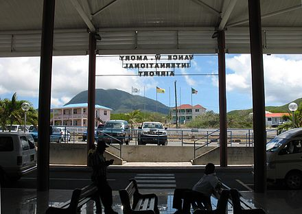 Vance W. Amory International Airport on Nevis Vance Amory International Airport, Nevis.JPG