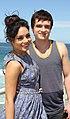 Vanessa Hudgens and Josh Hutcherson (6718756435).jpg