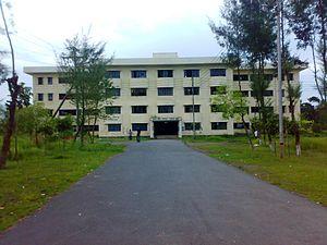 Noakhali Science and Technology University - Vasha Sahid Abdus Salam Hall, Front Block