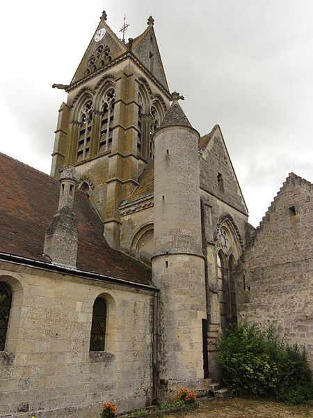 Vasseny (Aisne) église Saint-Rupert et Saint-Druon, tour et tourelle