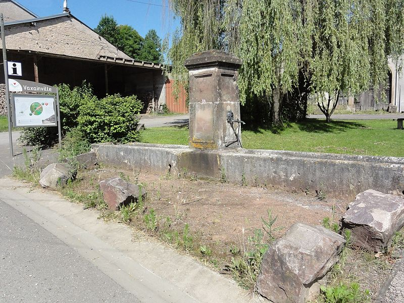 Vaxainville (M-et-M) fontaine