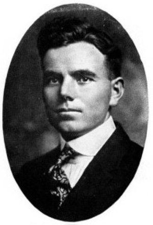 Vernon McCasland - McCasland pictured in The Prickly Pear 1920, Abilene Christian yearbook