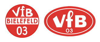 VfB Fichte Bielefeld - Historical logos of predecessor side VfB Bielefeld.