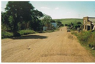 Vichadero Town in Rivera Department, Uruguay