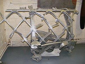 Vickers Warwick - Image: Vickers Warwick geodesic fuselage