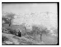 View of Bethlehem with woman in foreground LOC matpc.11547.jpg