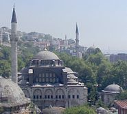 View of Mosque in Istambul from Gulu Oglu baklava fabrika.jpg