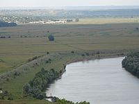 View of Nistru river near Speia.JPG